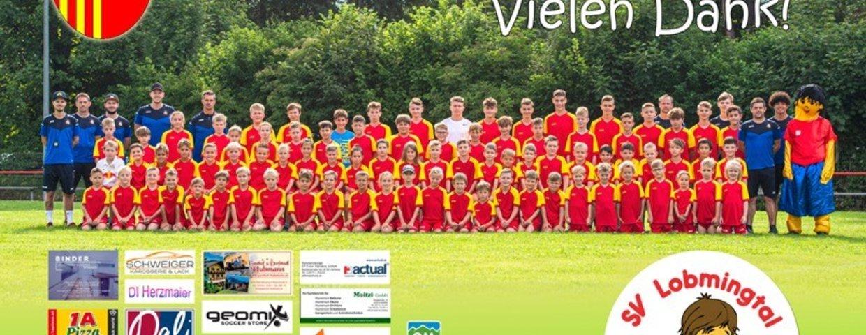 Herzlichen Dank allen Sponsoren des Fußballcamps 2021
